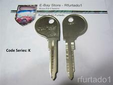Key Blank - Volkswagen Beetle - Karmann Ghia - Type 3 1966 to 70 see App. (VW67)