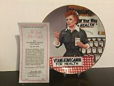 Hamilton Collection - It's Just Like Candy - I Love Lucy Collection w/ COA