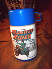RARE Saban's Masked Rider`1996`Saban Entertainment Plastic Lunch Box Thermos