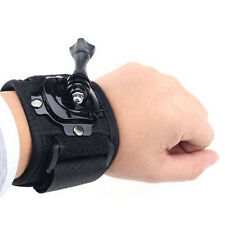 360° Rotation Wrist Hand Strap Band Mount Holder For Gopro Hero 3 4 Xiaomi Yi
