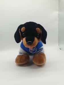 Build A Bear Promise Pet Dachshund Sausage Dog Black & Brown Plush Soft Toy VGC
