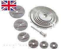 Dremel accessories- SILVER 6Pcs HSS Circular Saw Rotary Blades Hobby Rotary Tool