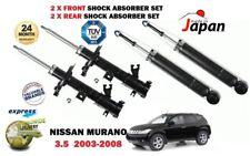 para Nissan Murano 3.5 2003-2008 2x delante + 2x juego de Amortiguadores