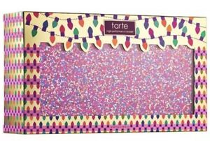 TARTE Life Of The Party Amazonian Clay Blush Palette & Glitter Clutch $132 Value