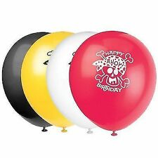 Balloons X8 Pirate Boys Birthday Party Latex Balloon Decoration