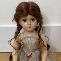 "Vintage 1950s Madame Alexander 18"" hard plastic ballerina doll, New Wig"