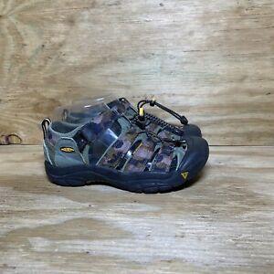 Keen Newport Women's Waterproof Hiking Sport Sandals Size 6 Green Camo