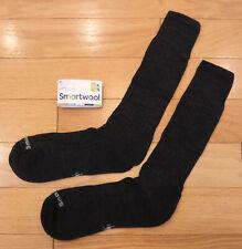 NWT SMARTWOOL New Classic Rib Mens Cushioned Wool Crew Socks-XL (12-14.5) BROWN