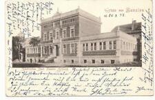 AK Gruss aus Bunzlau 1898 Städtisches Bad Kessler Stiftung Boleslawiec Schlesien