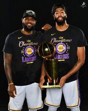 LOS ANGELES LAKERS WIN 2020 NBA CHAMPIONSHIP  8X10 PHOTO W/BORDERS