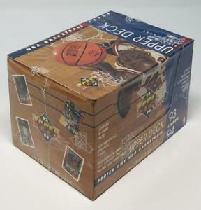 1993-94 Upper Deck Series One Jumbo Packs Basketball Box