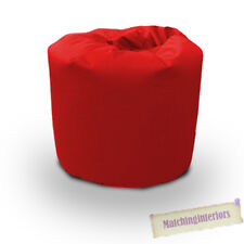 Red Cotton Twill Bean Bag Children's Kids Beanbag Seat Play Room Furniture Chair