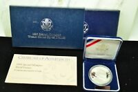 1995 SPECIAL OLYMPICS WORLD GAMES COMMEMORATIVE SILVER DOLLAR PROOF OGP