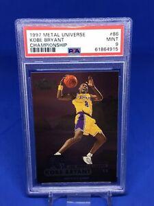 1997-98 Fleer Metal Universe Kobe Bryant Championship PSA 9 Lakers HOT HOF