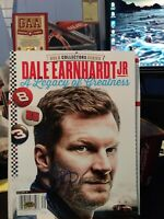 Dale Earnhardt Jr Autographed Magazine A Legacy of Greatness with COA