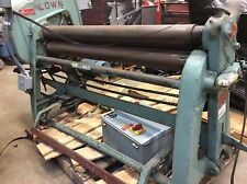 "Lown B400 48"" Pinch Type Steel Roller Bending Forming Plate Roll Machine"
