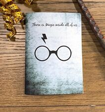 Mystery Magic Wizard Inspired Happy Birthday Handmade Greeting Card