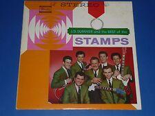 """J.D.SUMNER AND THE BEST OF THE STAMPS QUARTET"" - GOSPEL RECORD LP - 1A/1A"