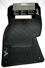 2005 + EARLY 2006 Audi A6 Rubber Floor Mats - Genuine Audi Factory OEM Accessory