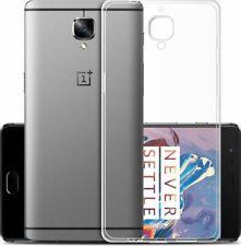 OnePlus 3 Handy Hülle Silikon Cover Schutzhülle Soft Case Slim Handyhülle Klar