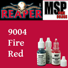 FIRE RED 9004 - MSP core 15ml 1/2oz paint pot peinture figurine REAPER MINIATURE