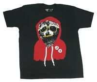 Shady Possum Hoodie Wearing Hipster Mustaches I Love Rabies Pin Men's T Shirt