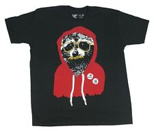 Shady Possum Hoodie Wearing Hipster Mustaches I Love Rabies Pin Men's T Shirt