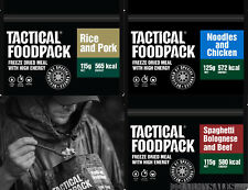 Tactical Foodpack Meat Lovers Selection - 3 Pack Freeze Dried Expedition Food