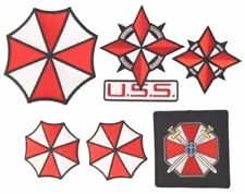 Resident Evil Uniform/Costume Cosplay Patch Set of 6