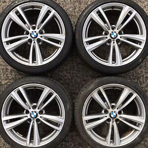 Set Genuine BMW 19 3 4 Series Alloy Wheels F30 F31 F32 F33 Tyres 225 255 E90 442