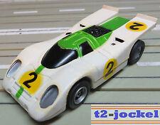 Faller Aurora -  AFX Porsche 917 mit Fahrlicht, + 2 neue Schleifer + Lämpchen