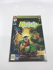 BATMAN KNIGHTFALL #5 - Foreign Comic Book - 1990s 90s - DC - VERY RARE - 7.5 VF-