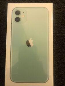 Brand New Sealed Apple iPhone 11 64GB Unlocked Green- UK Version +1 Yr Warranty