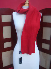 NWT Red Moon 100%Cashmere Red Women's Scarf Wraps