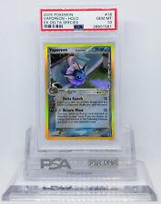 Pokemon EX DELTA SPECIES VAPOREON 18/113 HOLO FOIL PSA 10 GEM MINT CARD