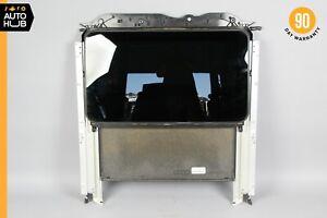 10-16 Mercedes W212 E400 E350 E550 Sunroof Sun Roof Glass Frame Track OEM 39k