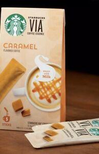 〈Starbucks Japan〉VIA CARAMEL flavor coffee essence 5stick