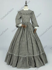Victorian Civil War Pioneer Woman Country Maiden Dress Theater Quality Gown 260
