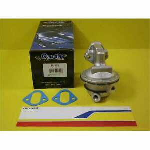 Carter Fuel System M4891 Fuel Pump SBC 409 1474 NPT on Both 85 psi 120gph