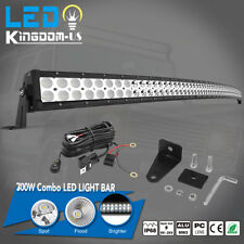 """700W 52"""" Curved Work LED Light Bar Fog Driving DRL SUV 4WD Boat Truck Off-road"""