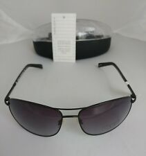 A/X Sun Glasses AX229/S Black Metal Frames with Case and Tags NEW