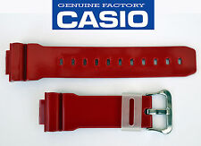 Casio G-Shock DW-6900SC Watch Band Strap RED GLOSSY RUBBER  DW-6900SC-7