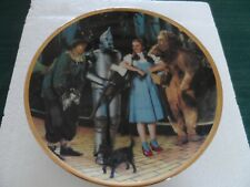 """We're Off to See the Wizard"" plate from The Hamilton Collection"