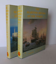 The Maritime History of the World Vols. 1 & 2 1985 Haws Ships Boats Trade Travel