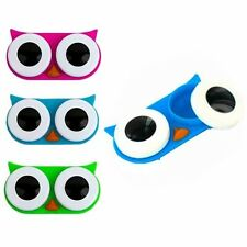 Kikkerland Owl Contact Lens Case ONLY Choice Pink, Blue or Green MG00-A