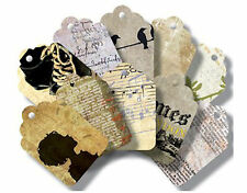 7Gypsies OFF THE WALL (20) Art Tags scrapbooking altered art JUST 99 CENTS!