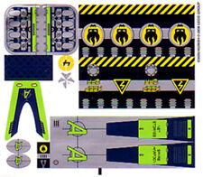 LEGO 8633 - AGENTS - Speedboat Rescue STICKER SHEET