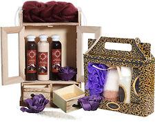 BRUBAKER 'Chocolate Vanilla' 15 Pcs. Bath Set Xmas Gift for Her Ladies Women