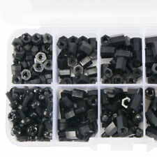 300Pcs M3 12mm10mm 8mm 6mm PCB Fixed Nylon Hex Standoff Spacer Screw Nut Kit GT