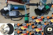 Wet Polisher Grinder 38 Pad Rubber Aluminum Backer Stone Concrete Granite floor